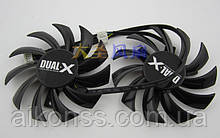 Кулер видеокарты FirstD FD7010H12S MSI R6750 N560GTX MSI R6790 R6870