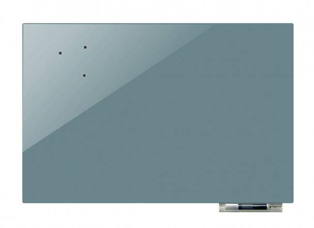 Доска магнитно-маркерная стекляная GL5050, 50x50 (Темно-серый            ), фото 2