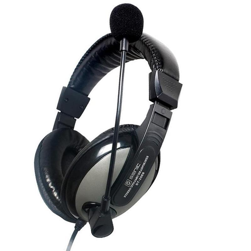 Гарнітура Somic ST2688 Black/Silver (9590010338)