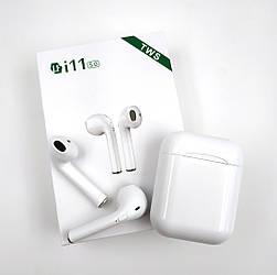 Беспроводные Bluetooth наушники HBQ i11 TWS White ES, КОД: 1754761