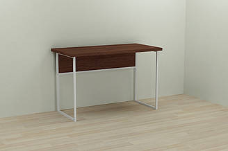Компьютерный стол Ferrum-decor Коди 75x140x60 белый ДСП Венге 32мм ES, КОД: 2352394