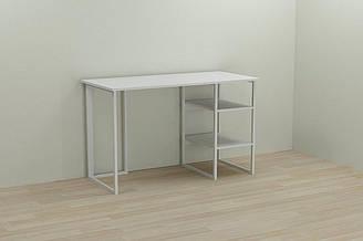 Компьютерный стол Ferrum-decor Кевин 75x100x60 белый ДСП Белое 16мм ES, КОД: 2352425