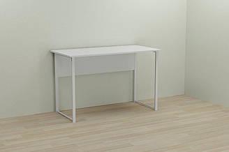 Компьютерный стол Ferrum-decor Курт 75x120x60 белый ДСП Белое 16мм ES, КОД: 2352549