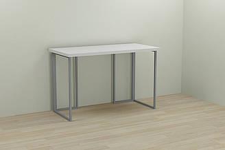 Компьютерный стол Ferrum-decor Ханна 75x140x60 серый ДСП Белое 32мм ES, КОД: 2352704