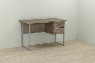 Компьютерный стол Ferrum-decor Дакота 75x120x70 серый ДСП Дуб Сонома Труфель 32мм ES, КОД: 2352766