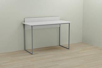 Компьютерный стол Ferrum-decor Скай 75x100x60 серый ДСП Белое 16мм ES, КОД: 2352859