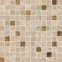 Плитка Мозаика Atlas Concorde Sunrock Travertino Almond Mosaico Gold ASP9