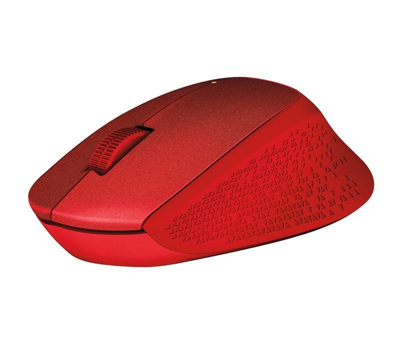 Миша бездротова Logitech M330 Silent Plus (910-004911) Red USB