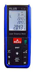 Лазерный дальномер Flus FL-40 Синий с черным mdr0484 ES, КОД: 141533