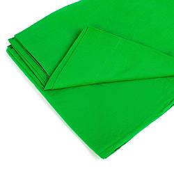 Фон тканевый зеленый для фотостудии Chromakey ld3 3х2.4 м hubFXfR09124 ES, КОД: 1913291