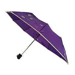 Зонт полуавтомат Max Lilu с изображением цветов Фиолетовый 114-4 ES, КОД: 1234787