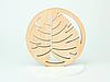 Круглая подставка под кружку дерево с красивым дизайном, фото 10