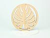 Круглая подставка под кружку дерево с красивым дизайном, фото 9