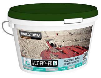 Зносостійка фарба GEOFIP FD6 для деревяних полів 10 кг FD6 ES, КОД: 1463787