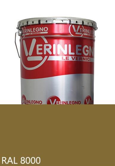 Фарба поліуретанова для меблів Verinlegno Італія, Колір RAL 8000, двокомпонентна