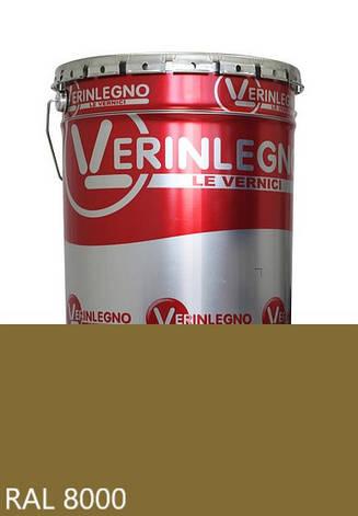 Фарба поліуретанова для меблів Verinlegno Італія, Колір RAL 8000, двокомпонентна, фото 2