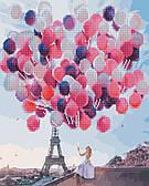 Париж в повітряних кульках