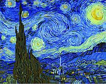 Зоряна ніч. Ван Гог