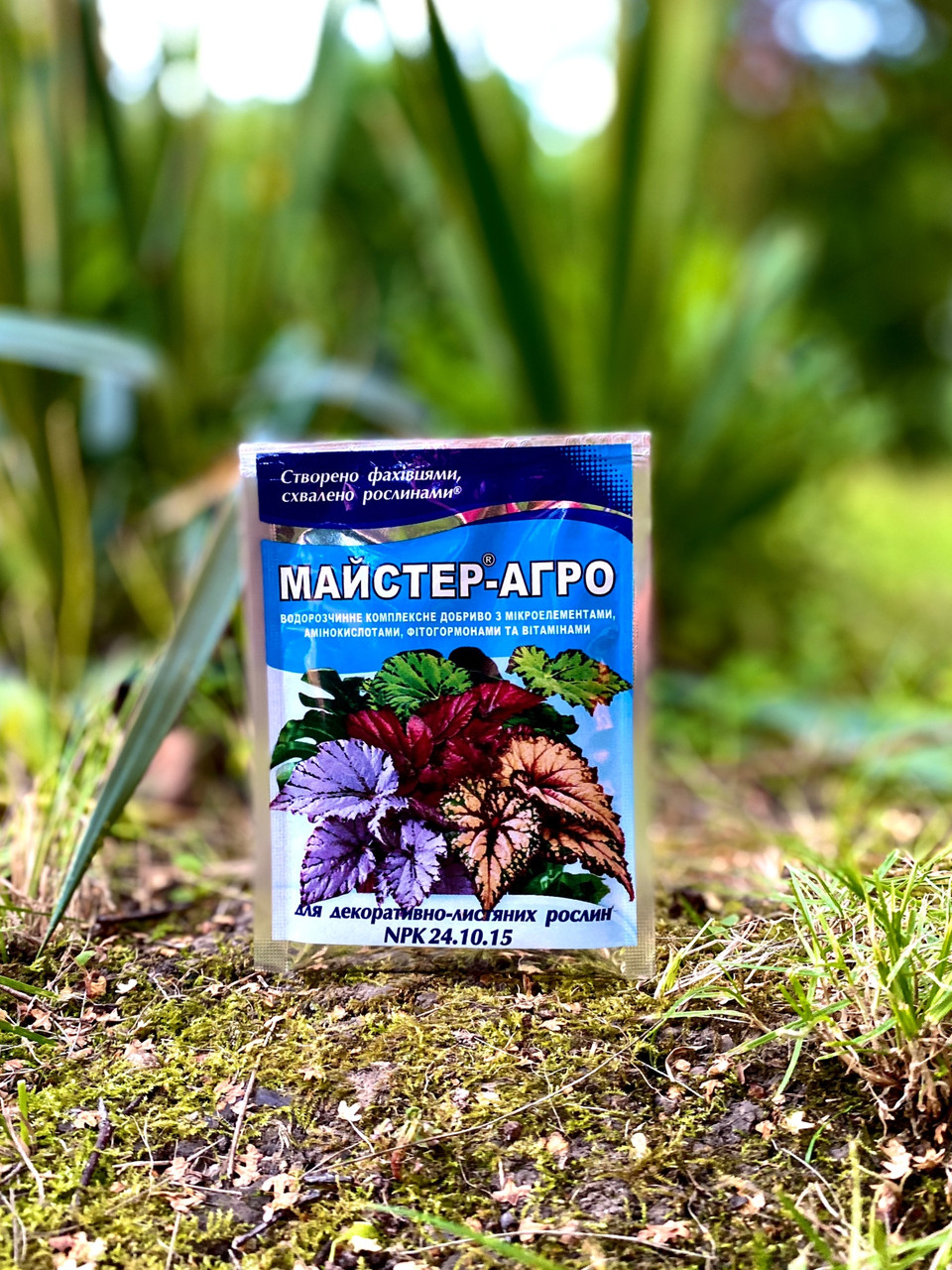 Майстер-Агро для декоративно-листяних рослин, 25 г