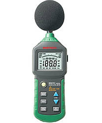 Шумомер Mastech MS6701 30-130 dB mdr1340 ES, КОД: 1125652