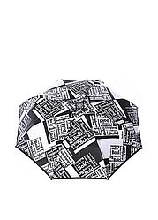 Зонт-автомат Baldinini Черно-серый 45 ES, КОД: 185760