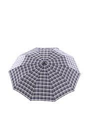 Зонт полуавтоматический Ferre Темно-синий с коричневым LA-888 ES, КОД: 1258297