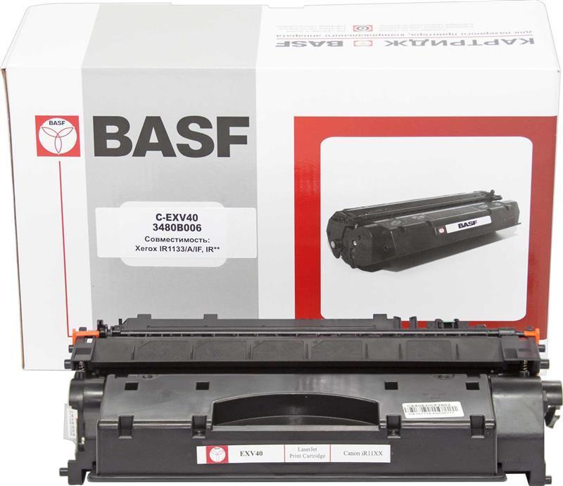 Картридж BASF (BASF-KT-EXV40) Canon iR-11XX Black (аналог C-EXV40)