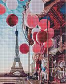 Карусель в центре Парижа