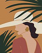 Пастельні тропіки: триптих 3