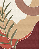 Триптих арт пастельний