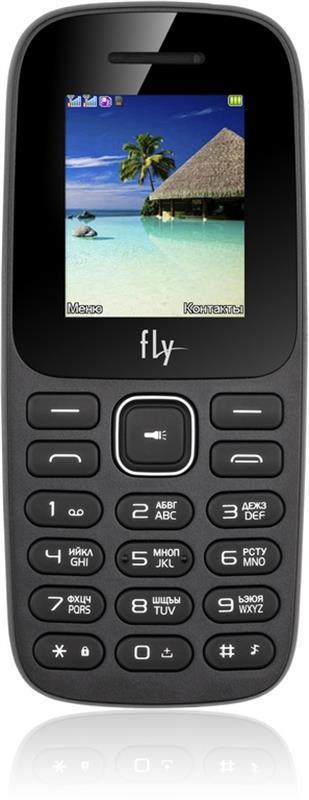 Мобильный телефон Fly FF183 Dual Sim Black