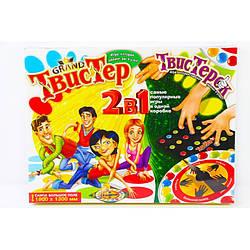 Игра 2 в 1 Danko Toys Твистер + Твистерок Разноцветный LKQYABS ES, КОД: 916342