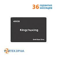 """Накопитель SSD 2.5"""" 480GB KingChuxing K525 R490MBs W460MBs SATA III 7мм новый"""