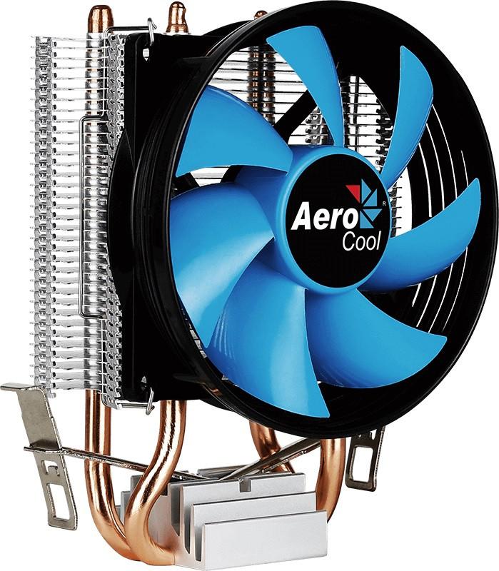 Кулер процессорный Aerocool Verkho 2, Intel:1156/1155/1151/1150/775, AMD:AM4/AM3+/AM3/AM2+/AM2/FM2/FM1, 142 х