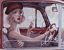 Красавица за рулем