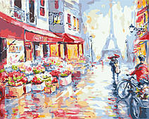 Цветочная улица в Париже