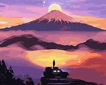 Восход солнца в горах