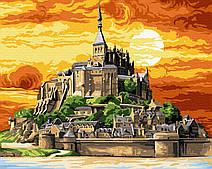 Замок на горе