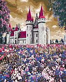 Замок в полевых цветах