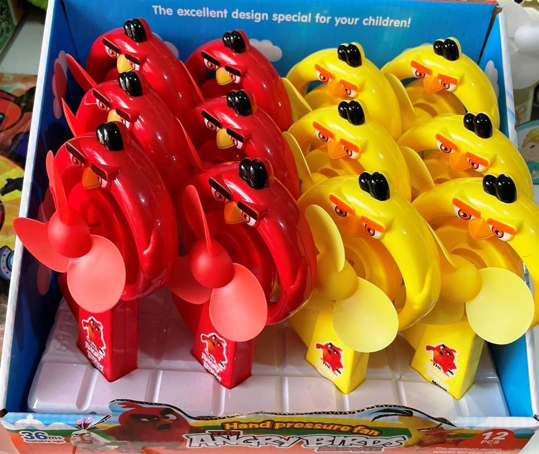 """Вентилятор ручной """"Angry Birds"""""""