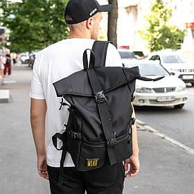 Рюкзак роллтоп чоловічий RONIN за мотивами мистецтва Кендо WLKR