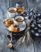 Булочки к кофе