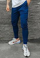 Мужские спортивные штаны с лампасами Staff blue lampas синий KKK0564