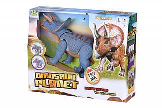 Динозавр Same Toy Dinosaur Planet серый со светом и звуком RS6167AUt ES, КОД: 2432035