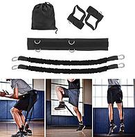 Тренажер для вертикальных прыжков Эспандер для упражнений step trainer
