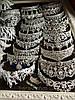Корона і сережки, діадема з зеленими каменями, набір прикрас Офіру, фото 6