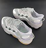 Мужские кроссовки Adidas Ozweego в стиле Адидас Озвиго Серые (Реплика ААА+), фото 6