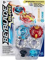 Дзига Hasbro Beyblade:2 вовчка в упаковці (B9491)