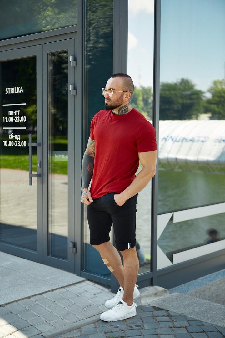Мужской летний комплект, летний костюм футболка + брючные шорты ASOS
