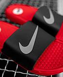 Шльопанці / Кросівок Nike Black Red, фото 2